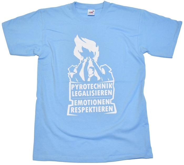 T-Shirt Pyrotechnik legalisieren