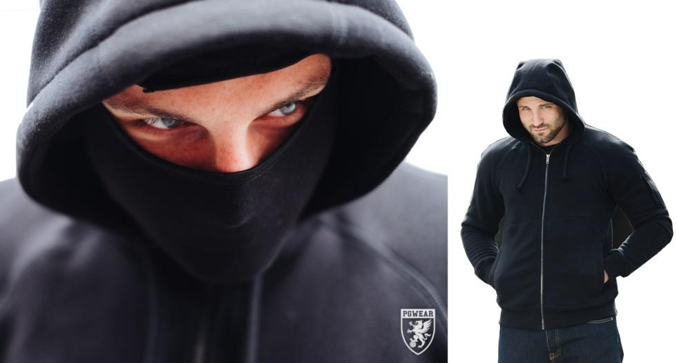 PGwear Smuggler Ninja Kapuzenjacke