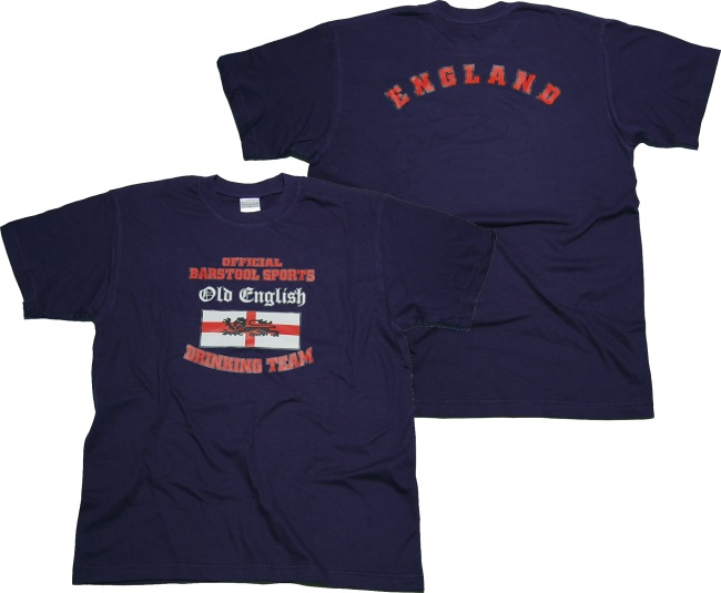 T-Shirt Barstool Sports Old English Drinking Team