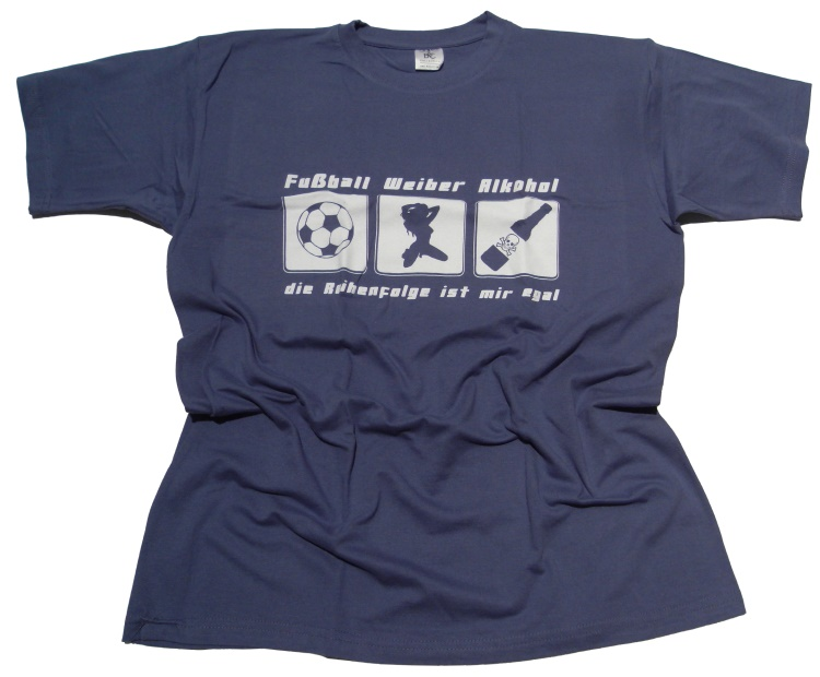 T-Shirt FWA Fußball Weiber Alkohol