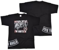 T-Shirt Mehr Spaß im Osten