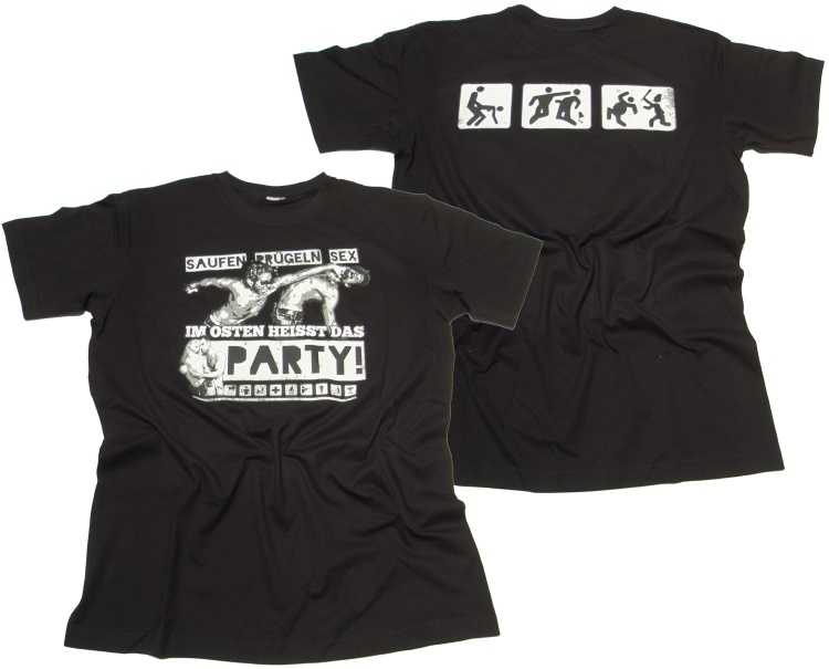 T-Shirt Im Osten hei�t das Party