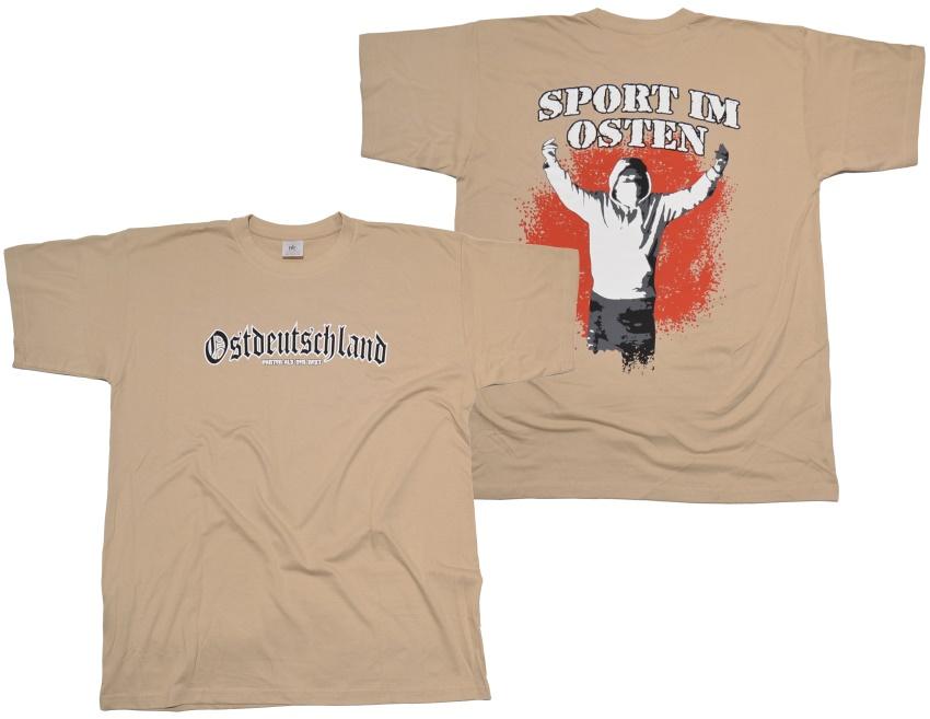 T-Shirt Sport im Osten