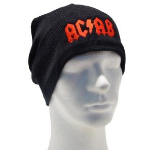 Strickmütze ACAB II roter Stick AC AB