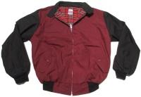 Sommer Harrington Jacke zweifarbig schöne englandstyle Sommerjacke mit karriertem Innenfutter