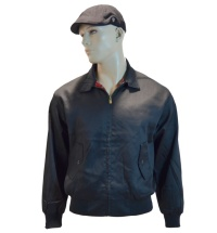 Warrior Clothing Harrington schöne englandstyle Sommerjacke mit karriertem Innenfutter