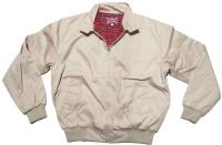 Sommer Jacke im Harrington Style schöne englandstyle Sommerjacke mit karriertem Innenfutter