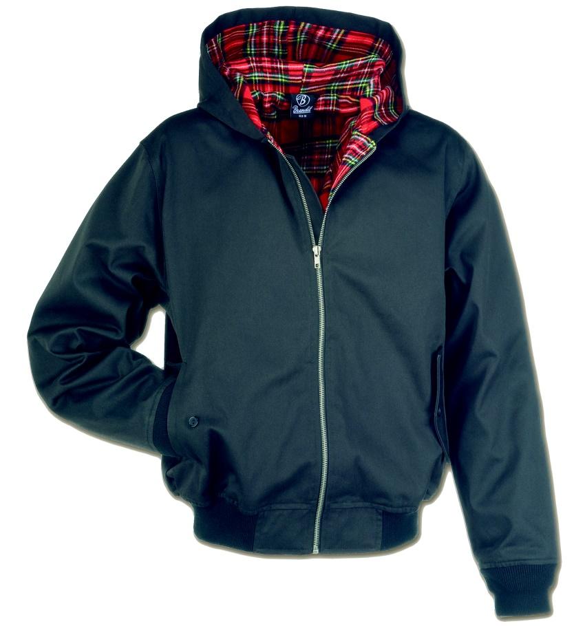 Hooded Harrington Style Jacke