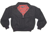 Winterharrington Jacke Wollharrington Style Jacke