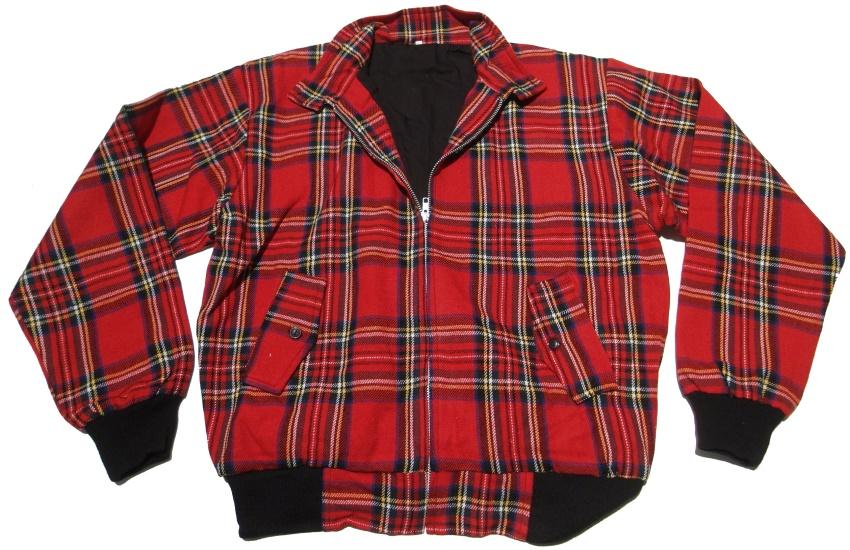 Harrington Style Jacke Tartan
