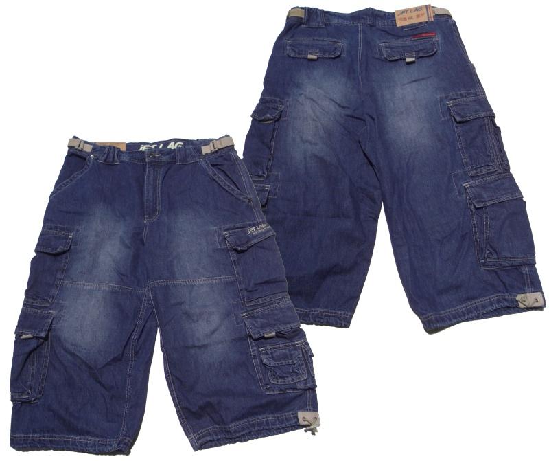 Jet Lag Jeans-Short 007 denim
