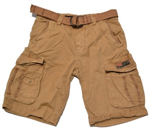 Jet Lag Short Take Off 8 in beige/sand