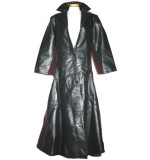 Damenmantel Kunstleder Hard Leather Stuff