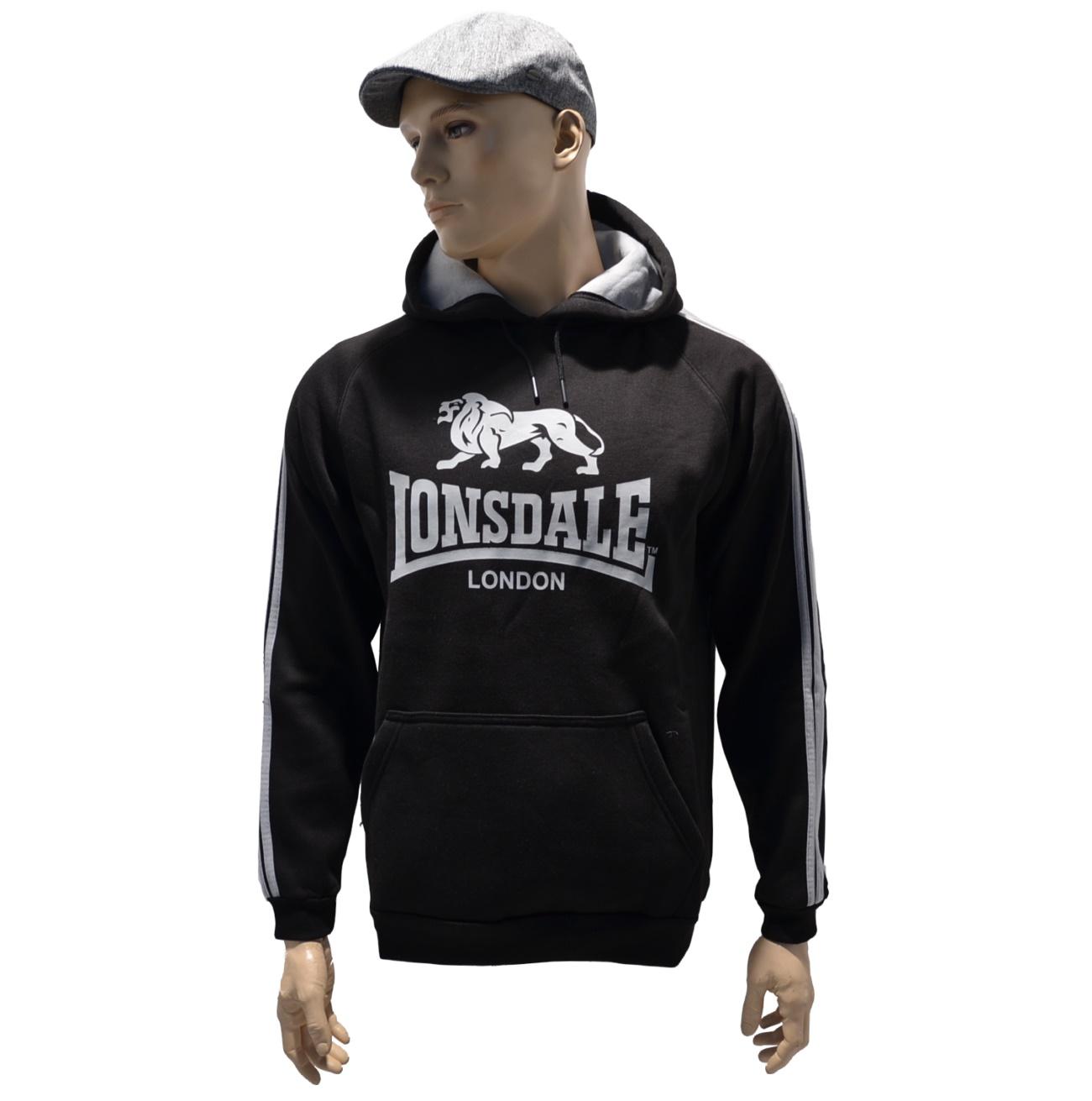 Lonsdale London Lion Logo Kapuzensweatshirt