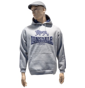 Orginal Lonsdale London Kapuzensweatshirt hellgrau