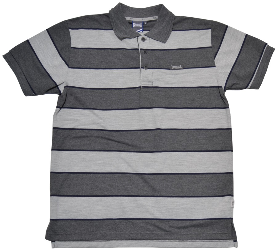 Lonsdale England Polo-Shirt 3 Block Stripe