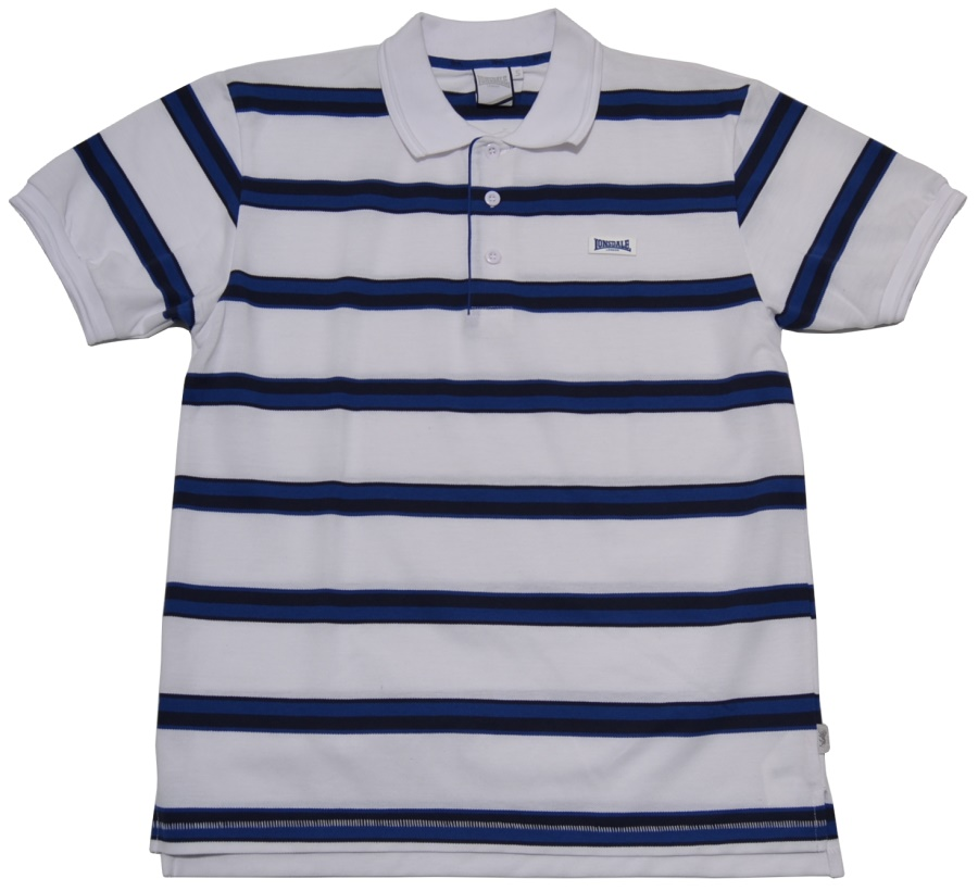 Lonsdale England Polo-Shirt Striped