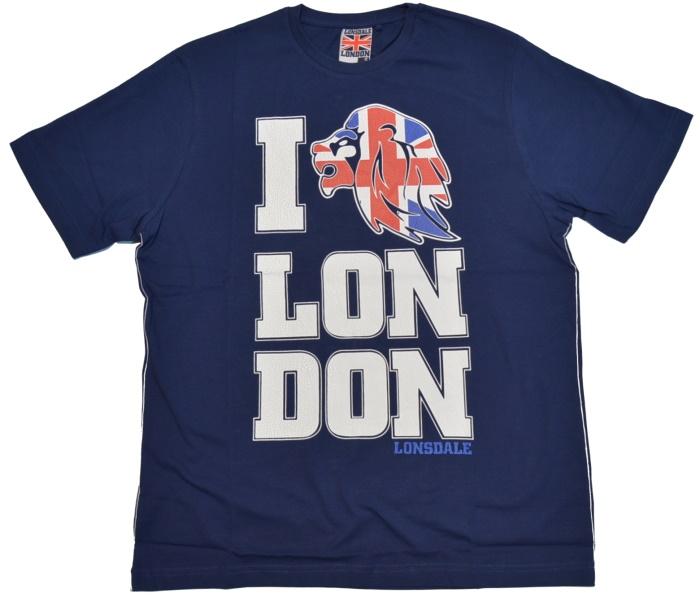 Lonsdale England T-Shirt Union Jack Lion