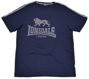 Lonsdale London T-Shirt 2 Stripes Lion