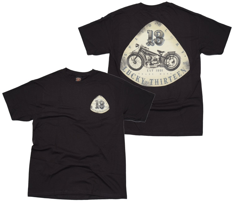 Lucky 13 T-Shirt Old Bike