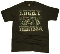 Lucky 13 T-Shirt 1369
