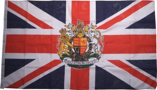 Großbritanien Flagge Krone