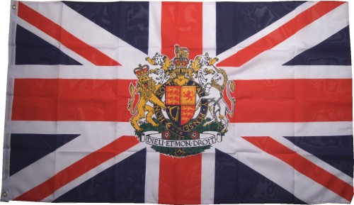 Gro�britanien Flagge Krone