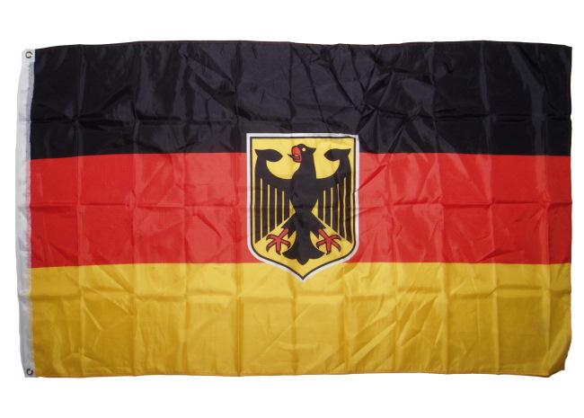 Fahne Deutschland mit Adler