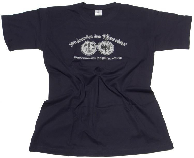 T-Shirt TEuro , Anti Euro Shirt