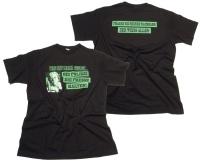 T-Shirt Was hat Mama gesagt bei Polizei fresse halten