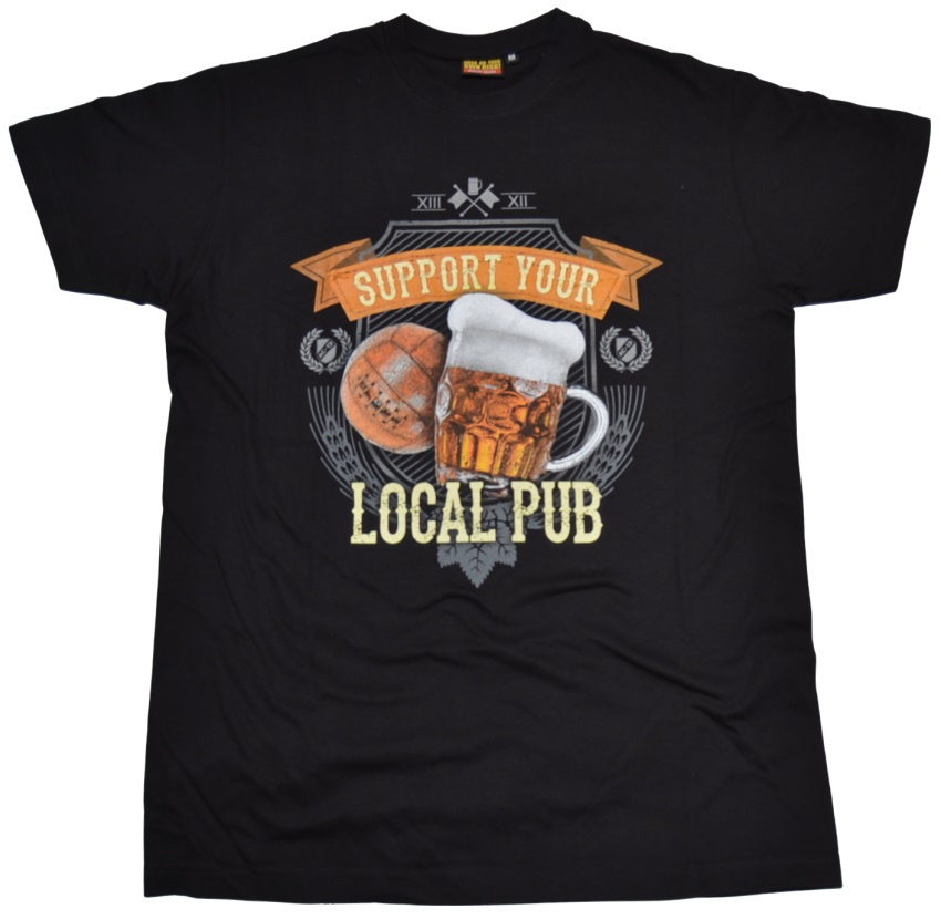 AC-13 T-Shirt Support Your Local Pub