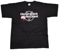 T-Shirt Christ gleich aufs Maul G556