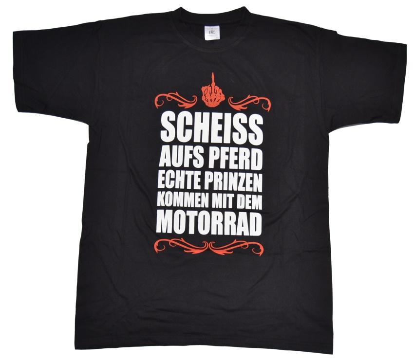 T-Shirt Scheiss aufs Pferd...