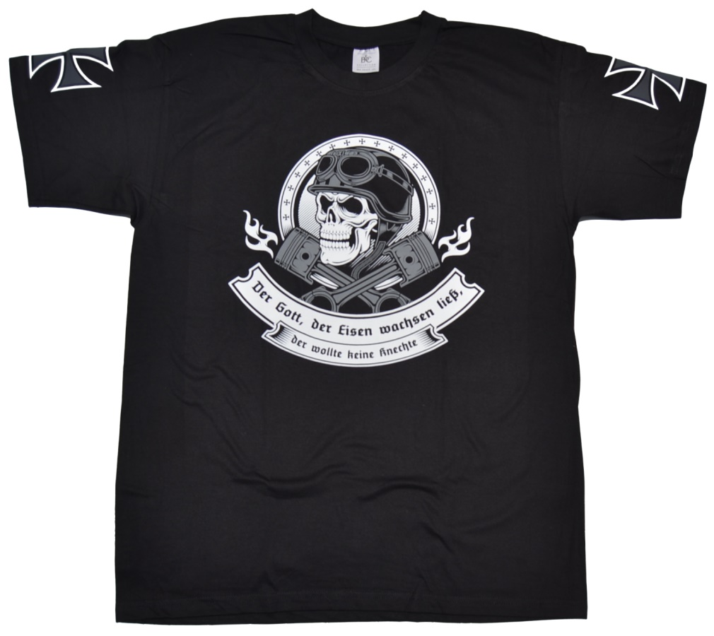 T-Shirt Der Gott der Eisen wachsen lie�...