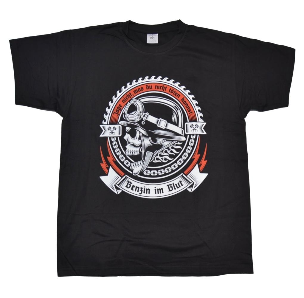 T-Shirt Benzin im Blut