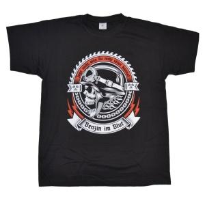 T-Shirt Benzin im Blut G317U
