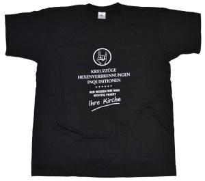 T-Shirt Ihre Kirche weiß wie man feiert G32