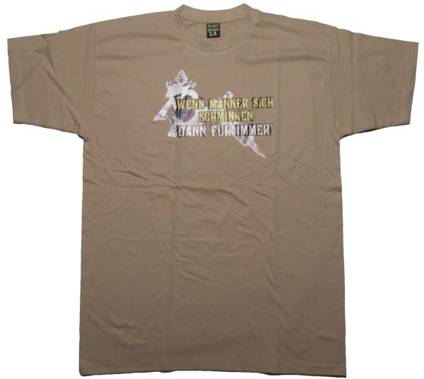 T-Shirt Wenn M�nner...