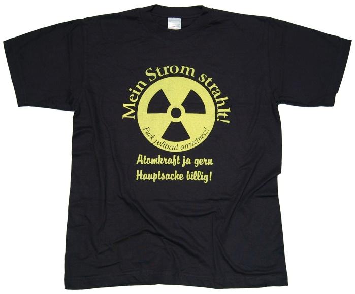 T-Shirt Mein Strom strahlt!