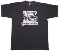 T-Shirt vom Osten lernen heißt Siegen lernen !
