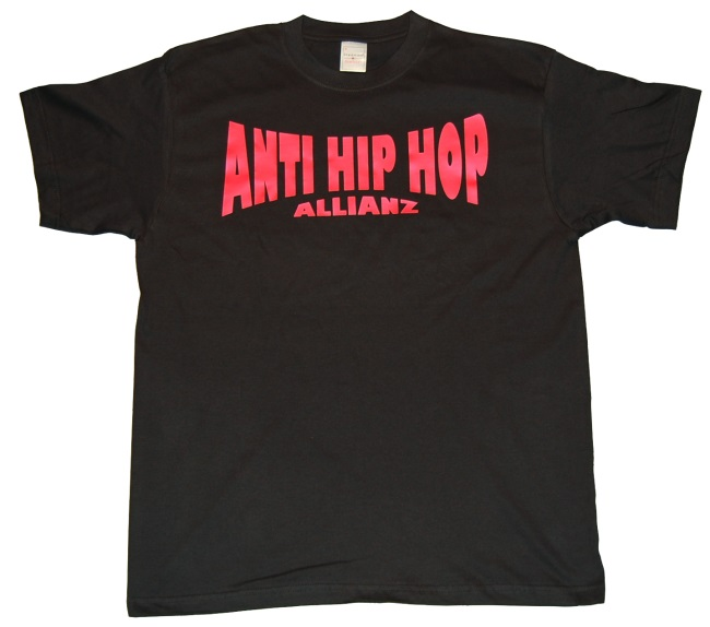 T-Shirt Anti Hip Hop Allianz