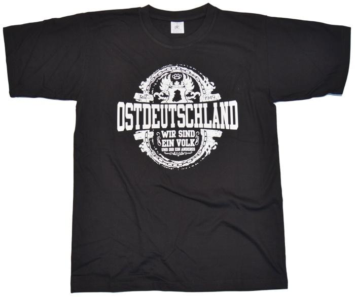 T-Shirt Ostdeutschland Ein Volk