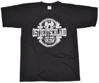 T-Shirt Ostdeutschland Ein Volk G543