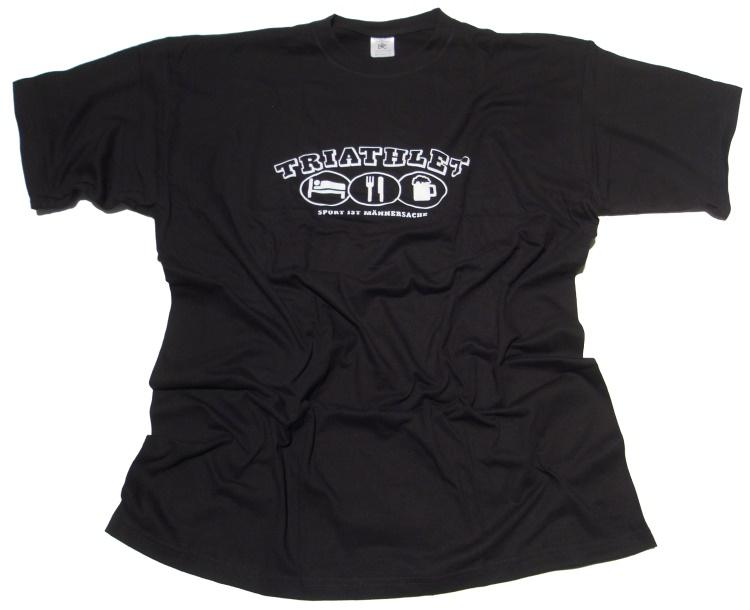T-Shirt Triathlet Sport ist M�nnersache