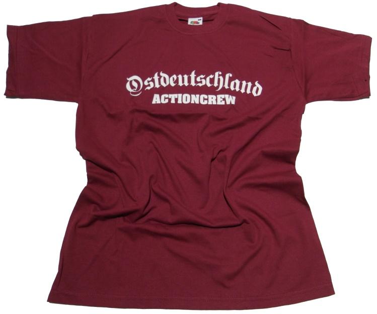 T-Shirt Ostdeutschland Actioncrew