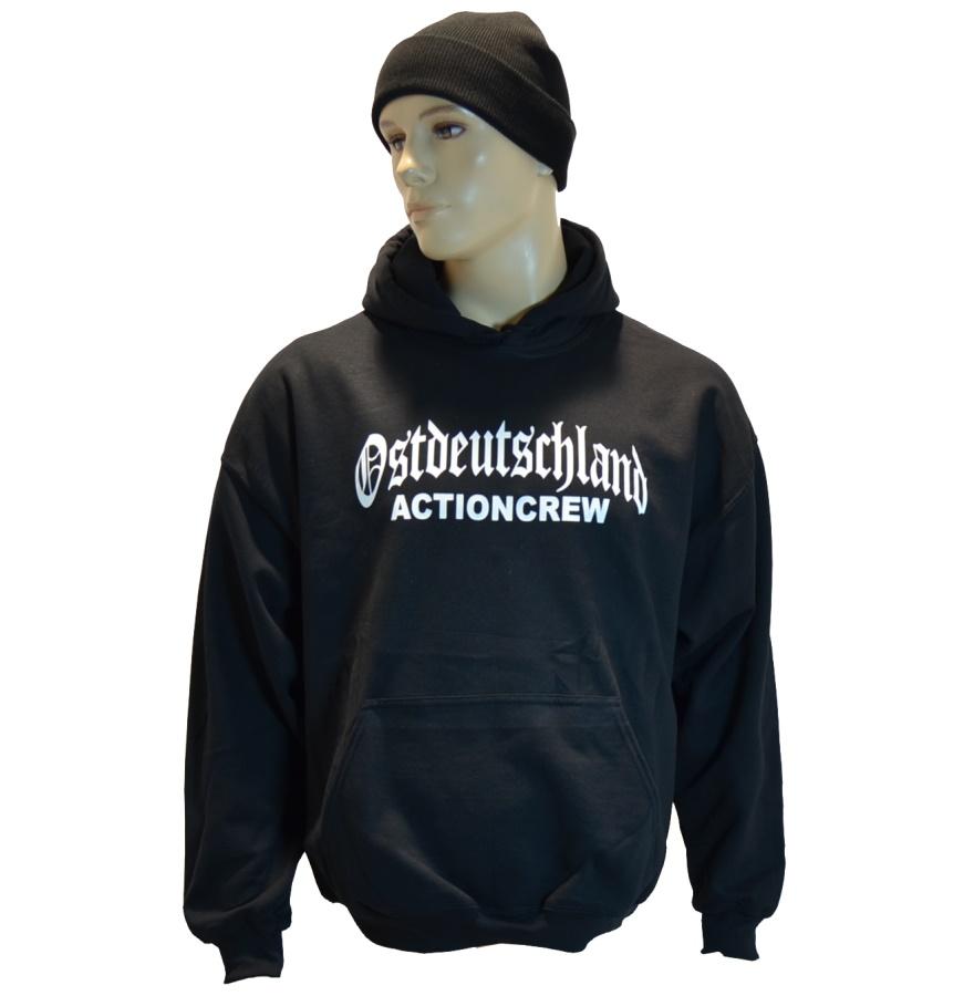Kapuzensweatshirt Ostdeutschland Actioncrew