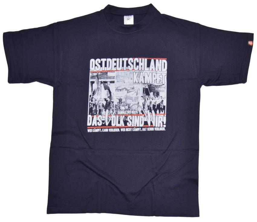 T-Shirt Ostdeutschland kämpft