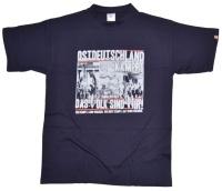T-Shirt Ostdeutschland kämpft das Volk sind wir !