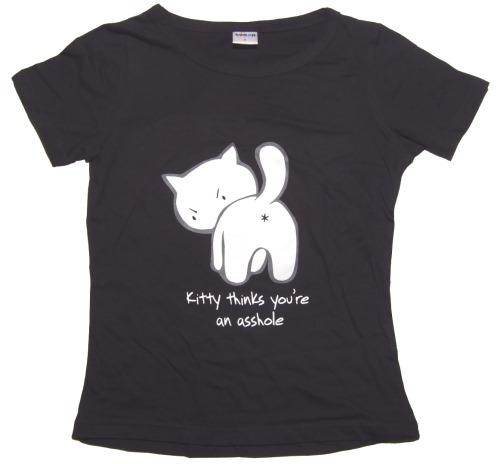 Girl Shirt Kitty