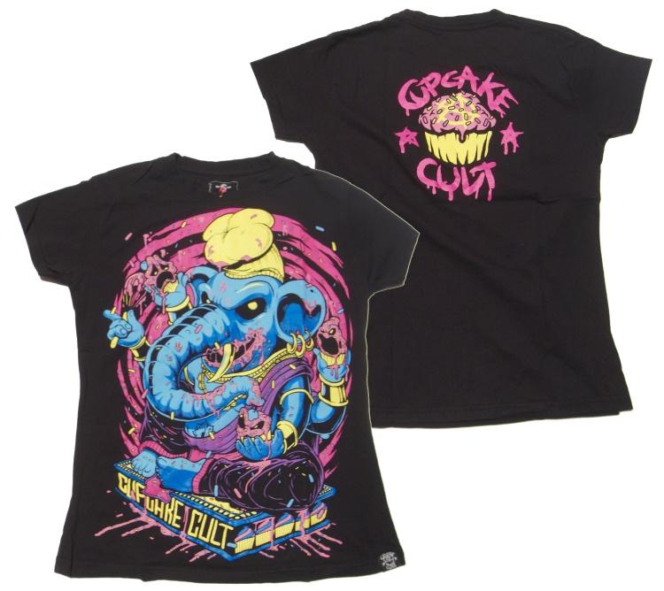 Girl Shirt Evil Clothing Cupcake Cult